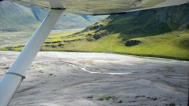 Green Arctic Hillsides