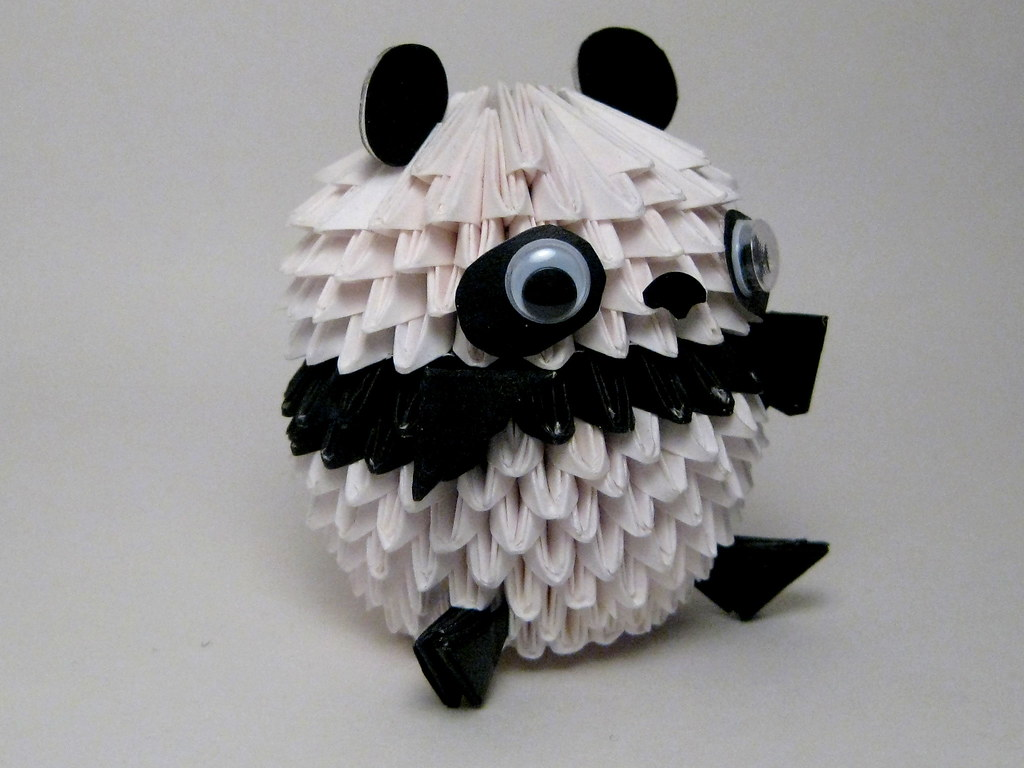 3d Modular Origami Diagrams Wiring Swan Diagram Panda Www Pixshark Com Images Dragon Instructions Quail