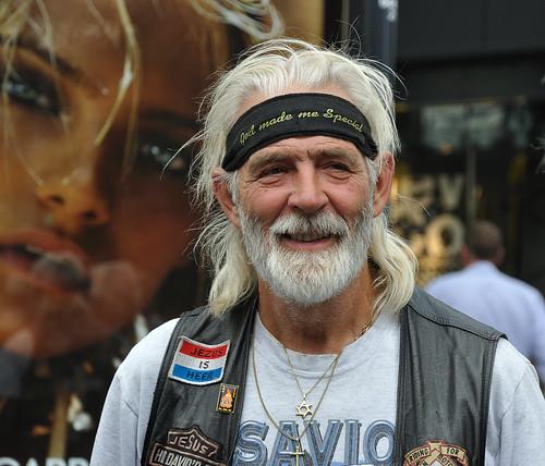 Harley Davidson rijder - Harley Davidson rider (1)