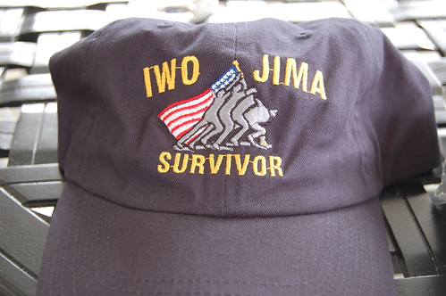 IwoJima_a new hat for Jerry's collection