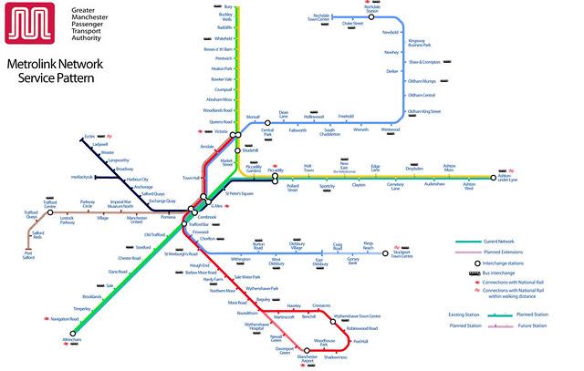 Metrolink 2016 Service Patterns  Explore Sparkyscrum39s