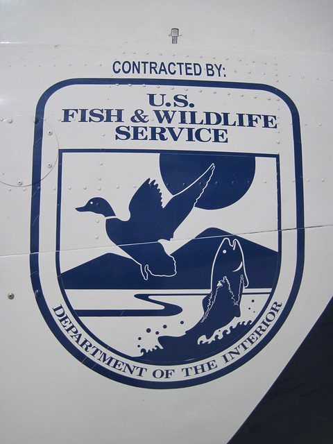 U.S. Fish and Wildlife Service Logo on Contracted ...