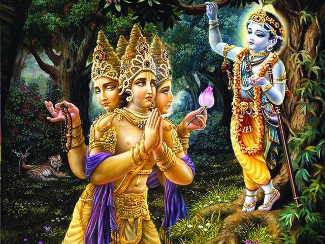 Kalyavan mistook Muchukund as Krishna