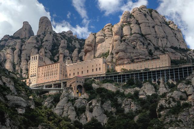 Santa maria de montserrat monastery montserrat flickr for 11 marine terrace santa monica