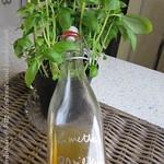 Limetten-Basilikum-Sirup
