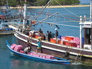 Phuket Fishermen - taken from Thep Krasattri Bridge