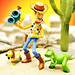 Woody Lenny Slinky Rex by m4calliope