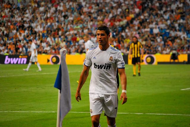 Ronaldo al corner