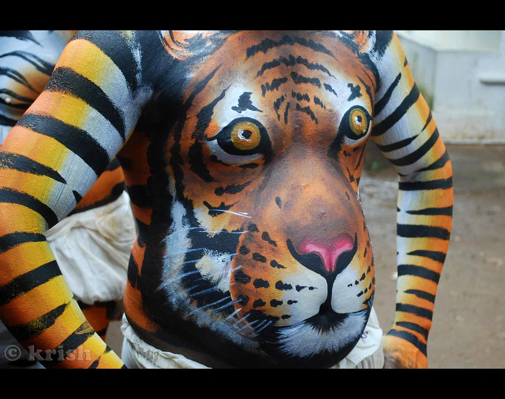 Opinion you tiger body paint