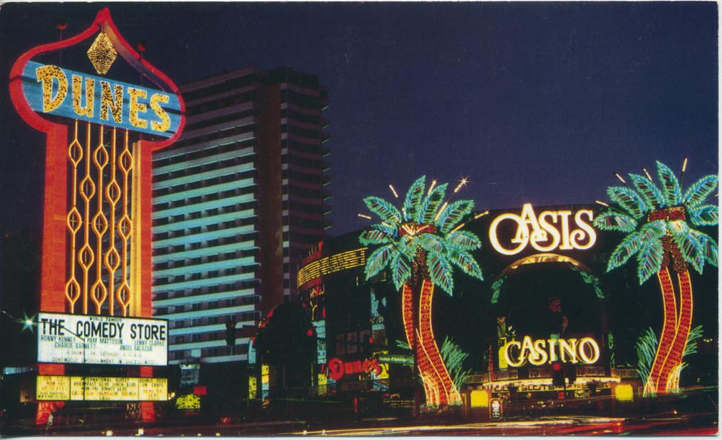 Dunes Las Vegas Postcard 1983