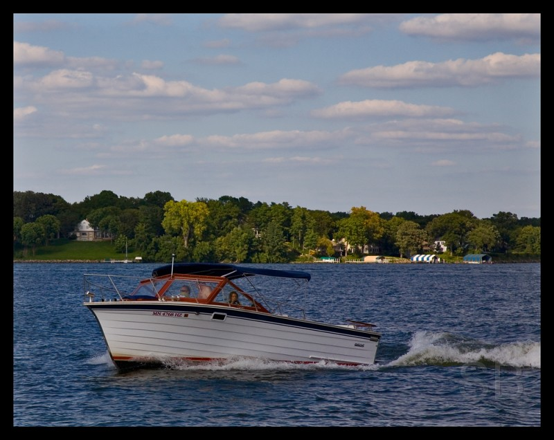 boating on Minnetonka