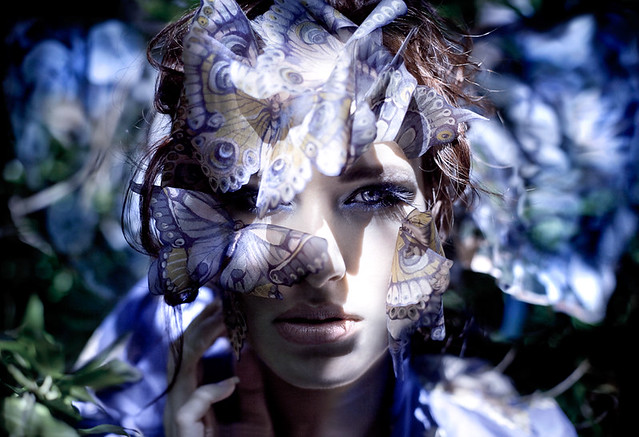 Kirsty Mitchell - Wonderland : Danaus (Queen of the butterflies)
