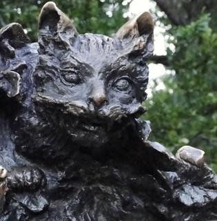 cat     sculpture Alice in Wonderland  Jose_de_Creeft