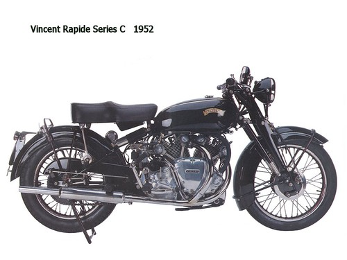 Vincent Rapide Series C 1952