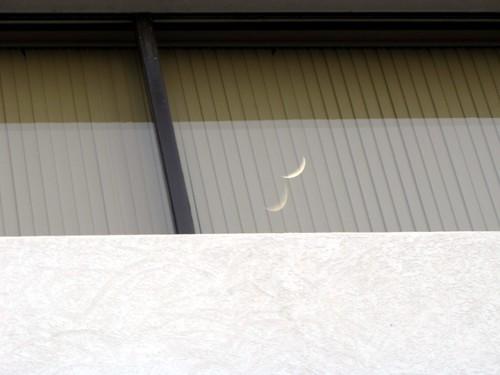 morning moon sunrise luna lunar gibbsboro paintworks commercialbuildings gibbsboronj