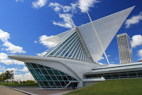 Milwaukee Art Museum from Flickr by Bryan Chang on 9/4/2010