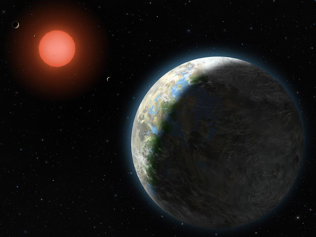 Planets of the Gliese 581 System   Flickr - Photo Sharing!