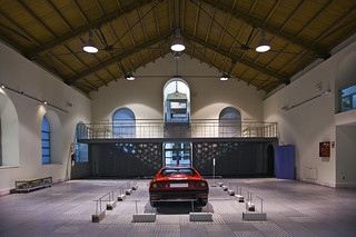 Museum of Automobile History. Ferrari GTBI. 1985. Salamanca. Castilla y León. Spain
