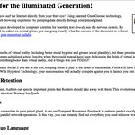 Browser for the Illuminated Generation!
