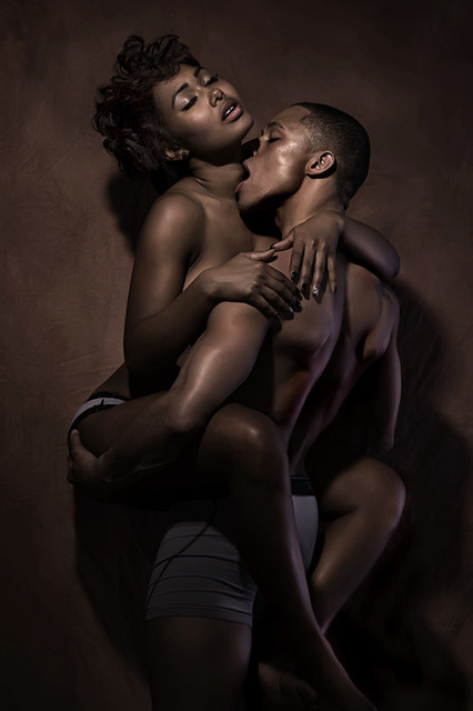 Black Couple Having Sex on the Wall. source: nubiangoddess.tumblr.com