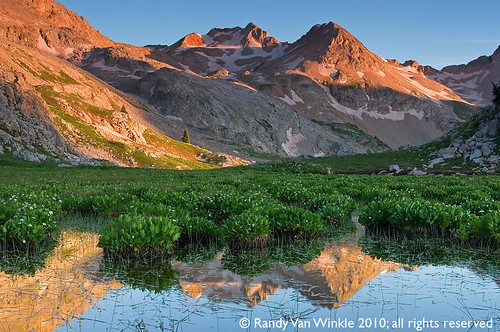 sunset mountains backpacking wilderness