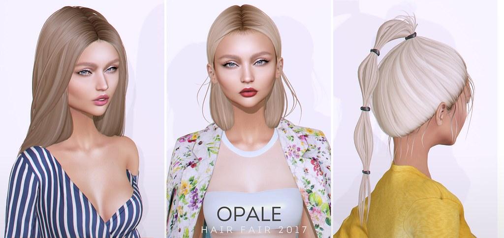 Opale Hair x Hair Fair 2017 - SecondLifeHub.com