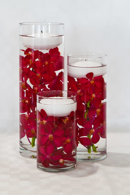 Libbey Small Glass Cylinder - Cylinder Vase - 100 Candles