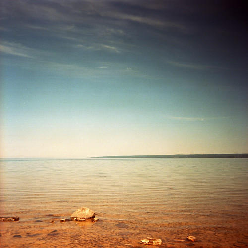 usa lake holiday 120 6x6 film water mediumformat square michigan horizon roadtrip super lakemichigan explore ilford kodakportra160vc am1 iso160 sporti ilfordsupersporti tumbld