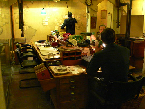 Churchill War Rooms.  Some rights reserved by heatheronhertravels on Flickr.  Used through Creative Commons.