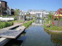 Malmo, canal housing