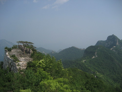 Great Wall from the Chinese Knot