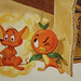 Orange Bird and Mouse