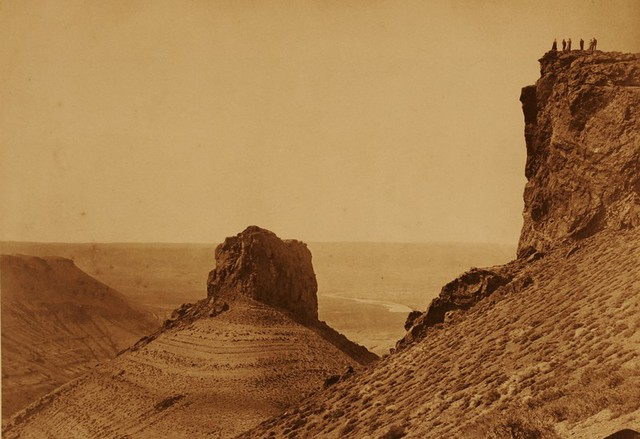 Smith's Rock, by Andrew J. Russell 1870