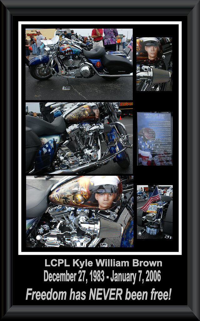 Tribute Bike Collage