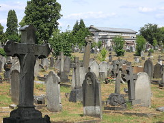 Kensal Green cemetery and chapel