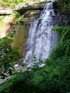 Visit to Brandywine Falls (Cuyahoga Valley National Park, Ohio)