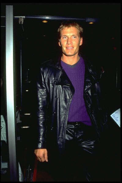 Dolph Lundgren in black leather | Flickr - Photo Sharing!