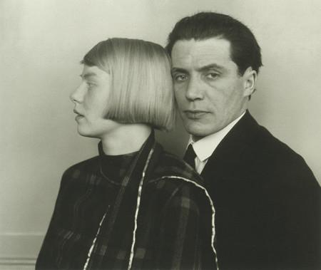 Architect Hans Heinz Lüttgen and his Wife Dora, by August Sander 1926