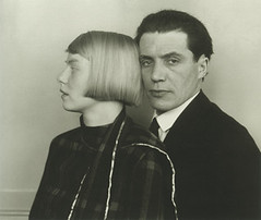Architect Hans Heinz Lüttgen and his Wife Dora, by August Sander 1926