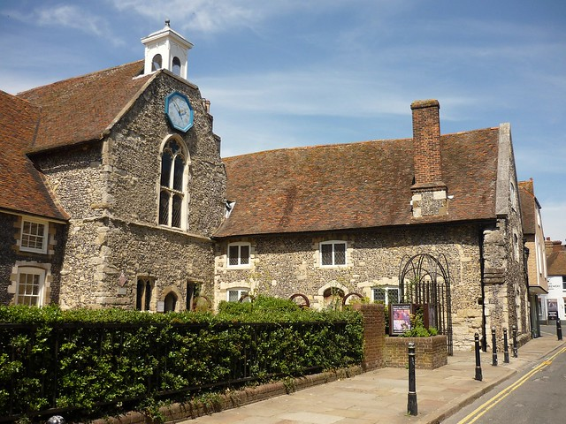 Poor Priests Hospital and the chapel of St. Mary, Canterbury, Kent