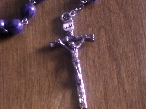 Rosary - JPII Papal Cross