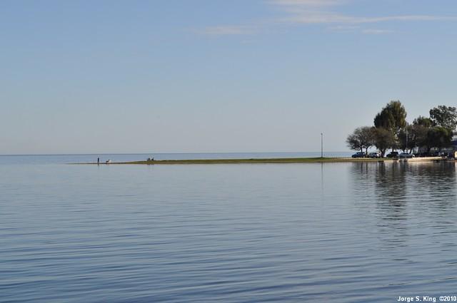 Rivera del lago