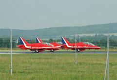 2009.06 REIMS - Centenaire de l'Aviation -  RED ARROWS