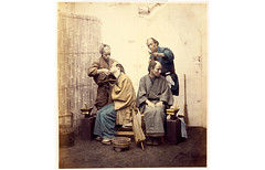 Barbers, by Felice Beato c.1865