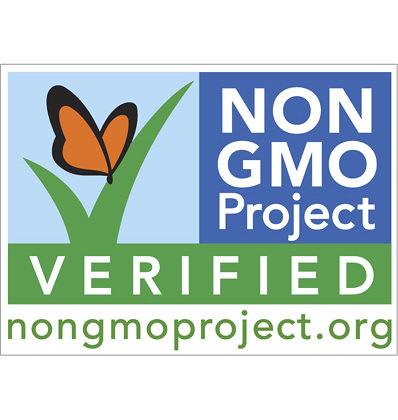 GMO Free Label - Non GMO Project Verified Food Label
