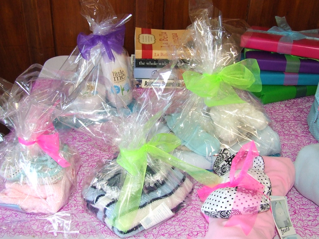 Baby shower prize table | Flickr - Photo Sharing!