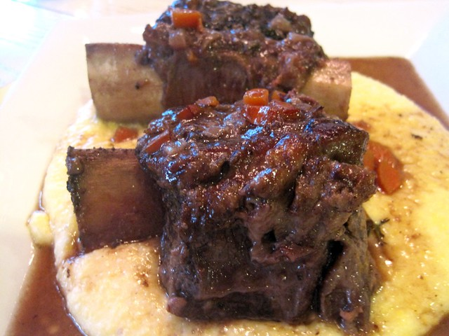 Braised Short Ribs over Creamy Goat Cheese Polenta   Flickr - Photo ...