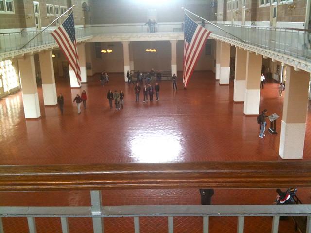 Ellis Island Average Stay
