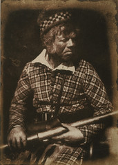 Finlay, deerstalker in the employ of Campbell of Islay, by Hill & Adamson 1845
