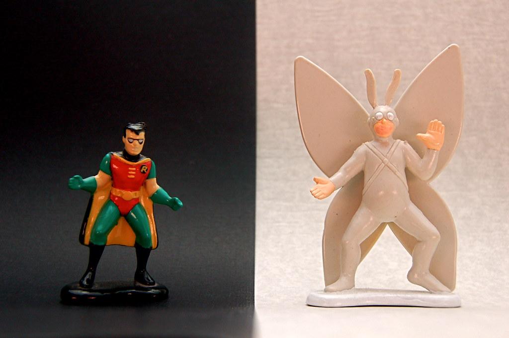 Robin vs. Arthur (197/365)